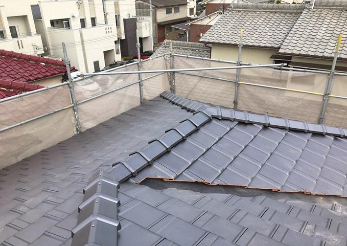 【その1】屋根葺き替え工事
