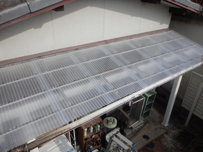 屋根:波板交換工事