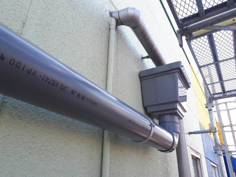 神戸市K株式会社の折半屋根雨漏り修理完成しました。