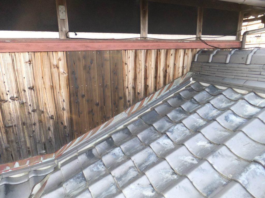 明石市大久保町 築30年 台風被害による屋根・外壁修理完成
