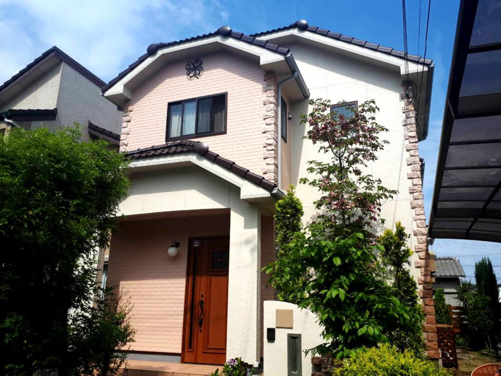 新築から12年~ベストなタイミングでの外壁塗装~ 屋根・外壁塗装工事<兵庫県加古川市>モニエル瓦、サイディング外壁