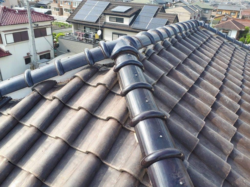 訪問販売の業者には気を付けて。耐震工法で屋根の補修をしました。