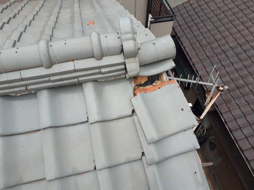 築31年 播磨町S様邸 雨漏り修理完成しました。