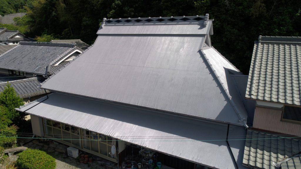 茅葺屋根のお家を遮熱リフォームで涼しく快適に