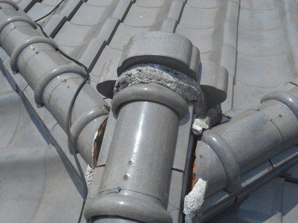 屋根を支える大事な要素 漆喰工事のご紹介