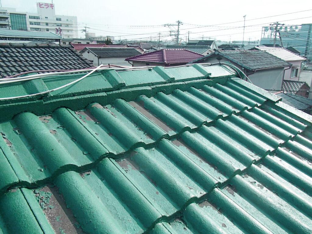 棟部漆喰が果たす屋根の役割