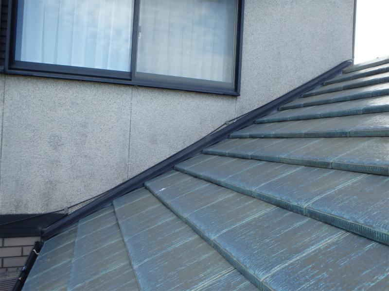 小野市大島町T様邸 壁際からの雨漏り修理 板金完成