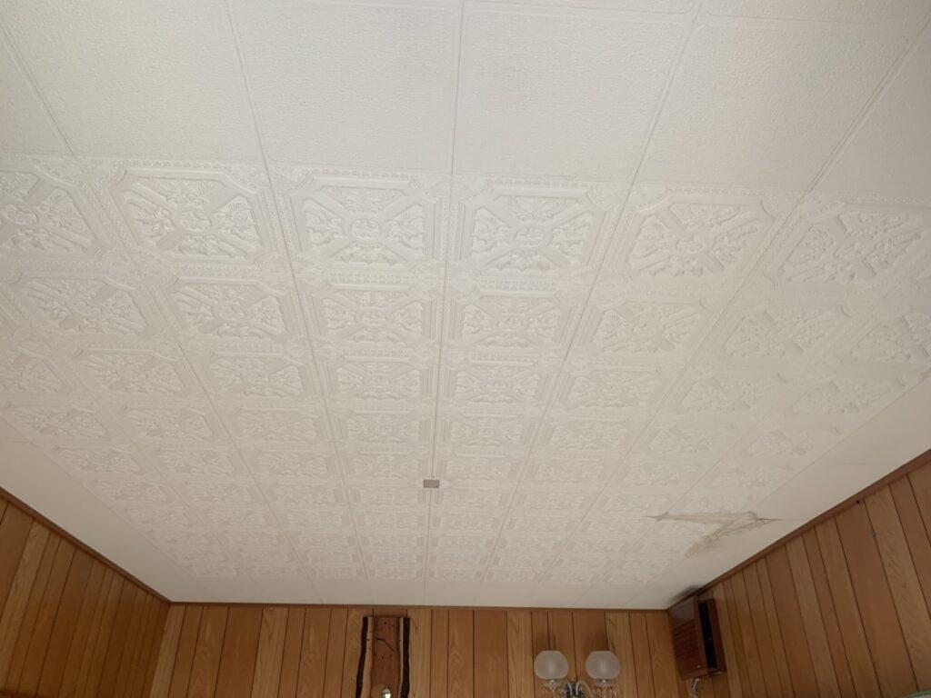屋根葺き替え・リビング天井改装・外壁塗装工事の施工事例をご紹介します。