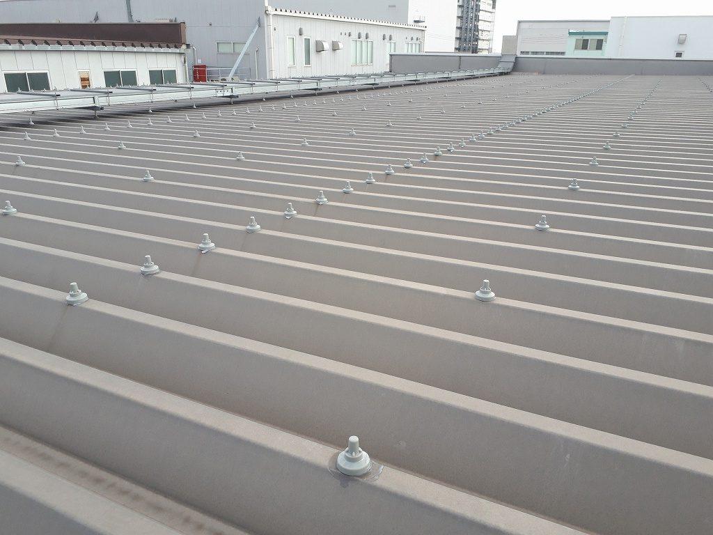 【雨漏り工事】工場屋根修理/ボルトキャップ工事<工場再生.com>